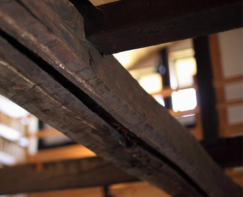 古民家の解体・古材の買い取りをいたします。