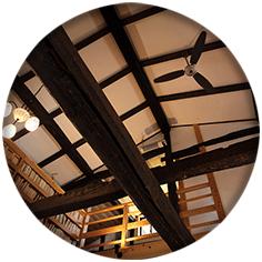 天井の漆喰